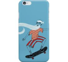 The Ancient Skater, Forever Skate ukiyo e style iPhone Case/Skin