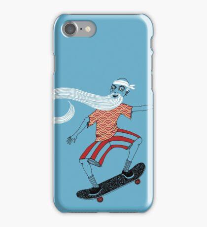 The Ancient Skater, Forever Skate ukiyo e style iPhone Case/Skin