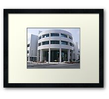 Ron Norrick Library Downtown OKC Framed Print