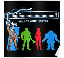 Select Your Master Poster