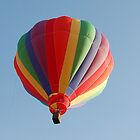 Rainbow Balloon by Jill Vadala