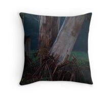 the night of the trees Throw Pillow