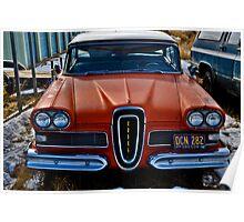 1958 Edsel Poster