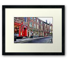 York Street Framed Print