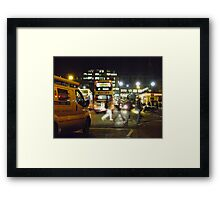 Night in the City (Edinburgh) Framed Print