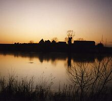 alton water dusk by uncleblack