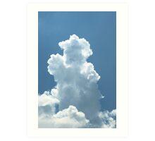 Cloud Sculptures - 1 Art Print