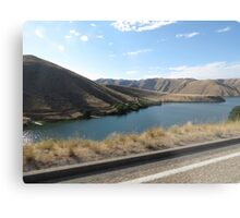 Lucky Peak, Idaho..Famous boating and summer fun place. AS IS Metal Print
