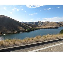 Lucky Peak, Idaho..Famous boating and summer fun place. AS IS Photographic Print