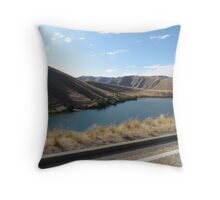 Lucky Peak, Idaho..Famous boating and summer fun place. AS IS Throw Pillow