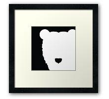 Polar Peek-a-Boo Framed Print