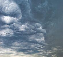 Storm over a Corn Field by heartlandphoto