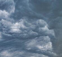 Storm over a Corn Field Sticker