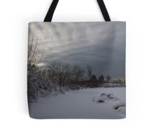 Clearing Snowstorm Tote Bag