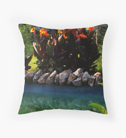 ordered Throw Pillow