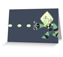 Periman (Megaman Peridot) Greeting Card
