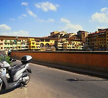 The Way to Ponte Vecchio by HOBbitDAY