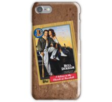 Bull Durham Movie Poster Card iPhone Case/Skin