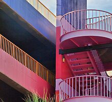 La Placita Parking Garage by Linda Gregory