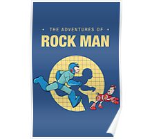 The Adventure of Rockman Poster