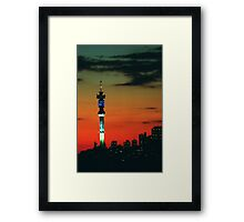 Hillbrow Tower Framed Print