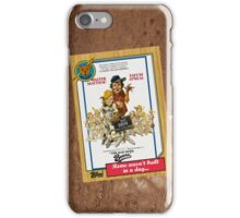 Bad News Bears Movie Poster Card iPhone Case/Skin
