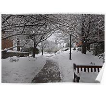 Palmer Square, Princeton NJ  Poster