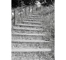 staircase of acceptance Photographic Print