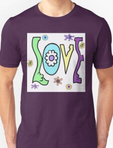 Psychedelic LOVE-Cooltones T-Shirt