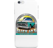 Slick 60's - Caribbean Turquoise iPhone Case/Skin