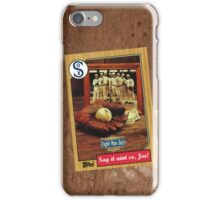 Eight Men Out Movie Poster Card iPhone Case/Skin