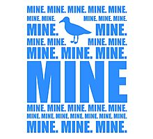 Mine in blue Photographic Print