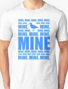 Mine in blue T-Shirt