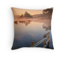 Knapps fence-line... Throw Pillow