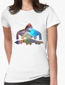 Jirachi used cosmic power Womens Fitted T-Shirt