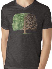 Turn of Season Mens V-Neck T-Shirt