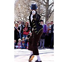 Street Performers - South Bank, UK Photographic Print