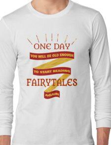 Reading Fairytales Long Sleeve T-Shirt