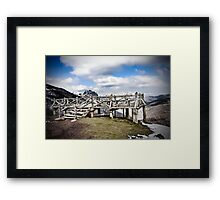 Viewpoint to nature Framed Print