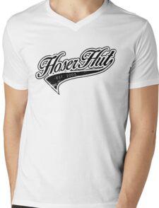 Hoser Hut_Black Mens V-Neck T-Shirt