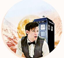 Doctor Who Eleventh Doctor Circle Graphic by starryoswin