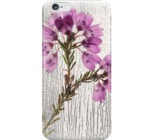 Floral tapestry  iPhone Case/Skin