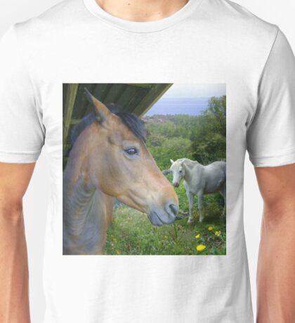 brown'n'white T-Shirt