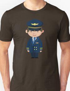 Cute Pilot Design T-Shirt