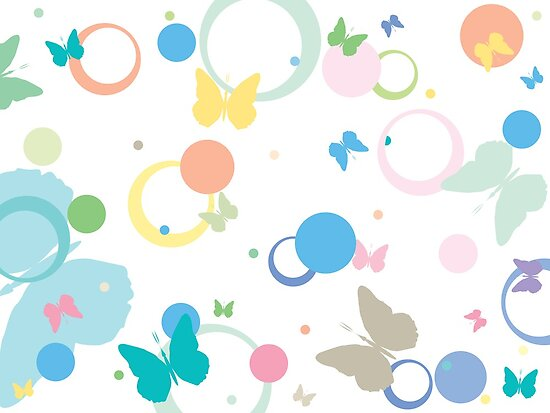 Butterflies and bubbles by Laschon Robert Paul
