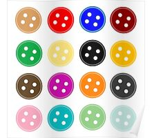 Button Buttons Poster