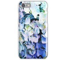 Soft Tri-Color Pastel Hydrangea iPhone Case/Skin