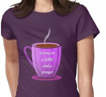 Next to Coffee Womens Fitted T-Shirt