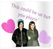 Bethany Consentino and Nathan Williams Valentines Poster