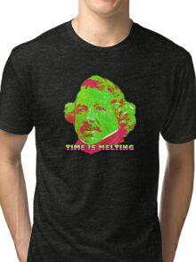 Time Is Melting Tri-blend T-Shirt